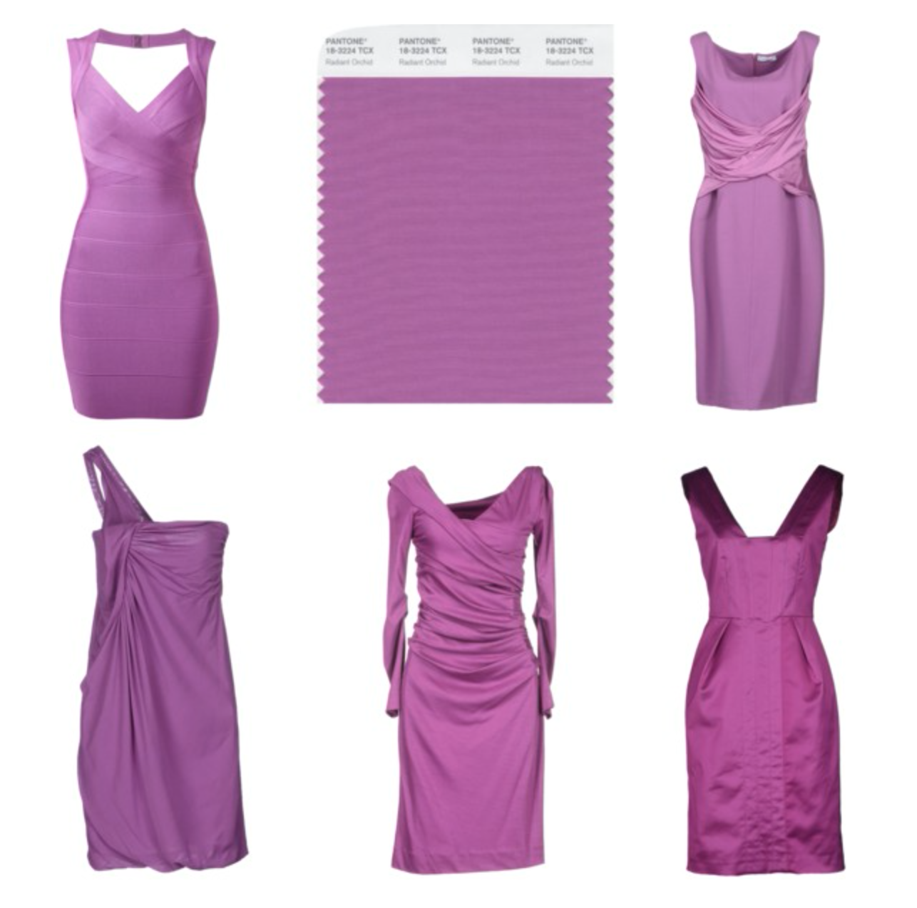 How to wear the Pantone color Radiant Orchid - Dresses ...