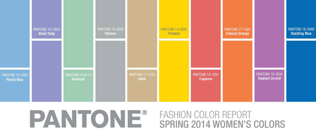 Pantone Spring Colors 2014 - My Brand New Image