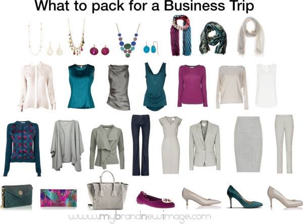 what to pack for a 5 day business trip my brand new image