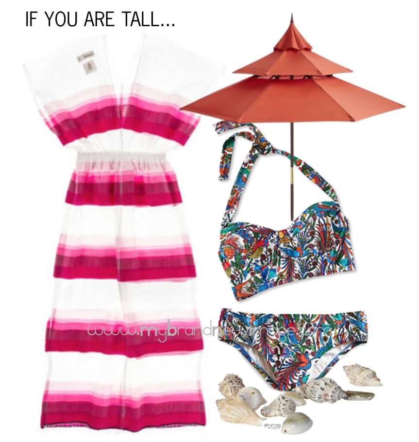 Beachwear for the Tall type -  www.mybrandnewimage.com