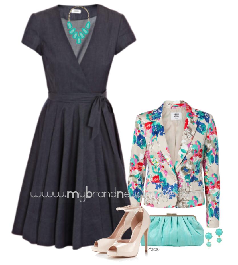 Denim Dress -  www.mybrandnewimage.com