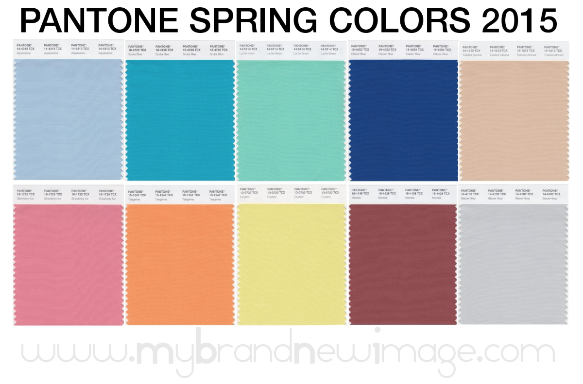 Pantone Spring Colors 2015 Women My Brand New Image
