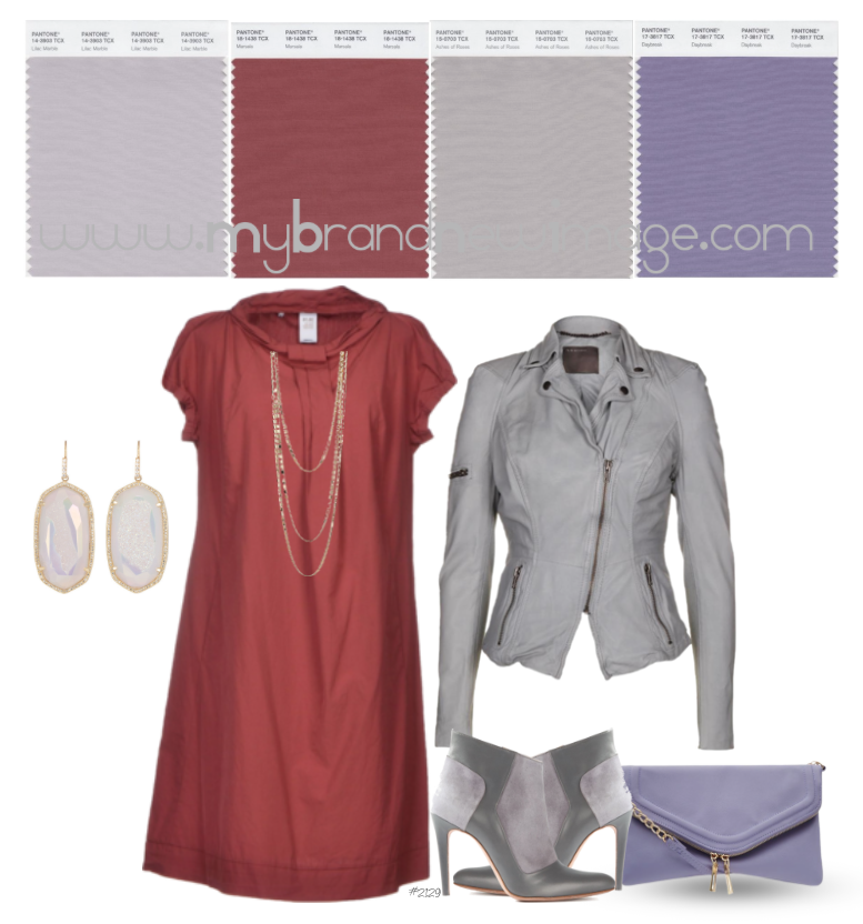 No  2129 - How to pair Marsala, PANTONE® Color of the Year