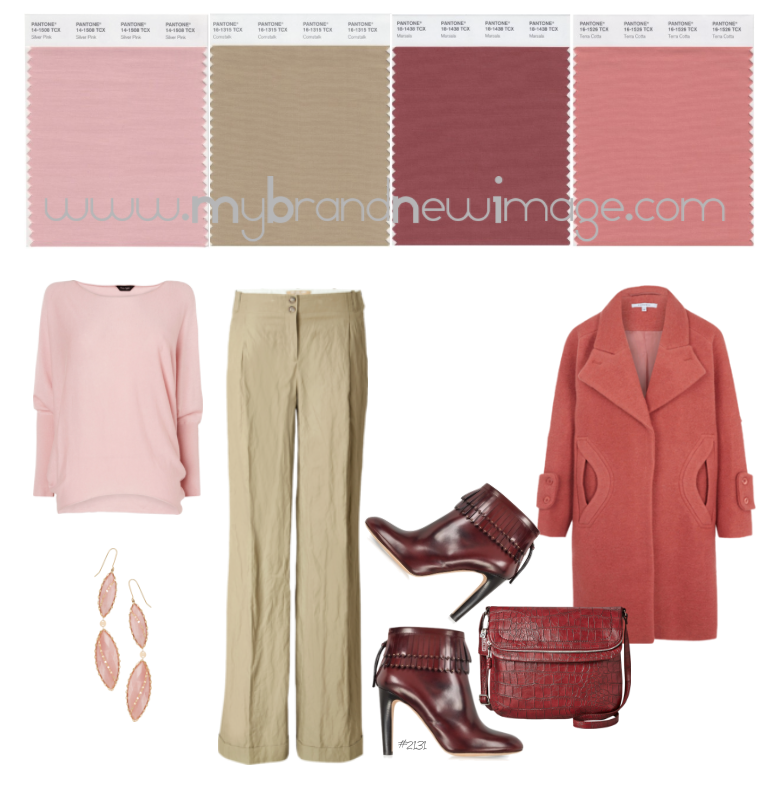 No  2131 - How to pair Marsala, PANTONE® Color of the Year
