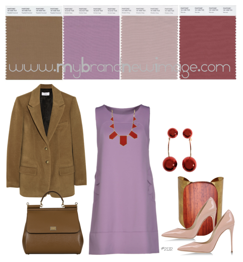 No  2132 - How to pair Marsala, PANTONE® Color of the Year