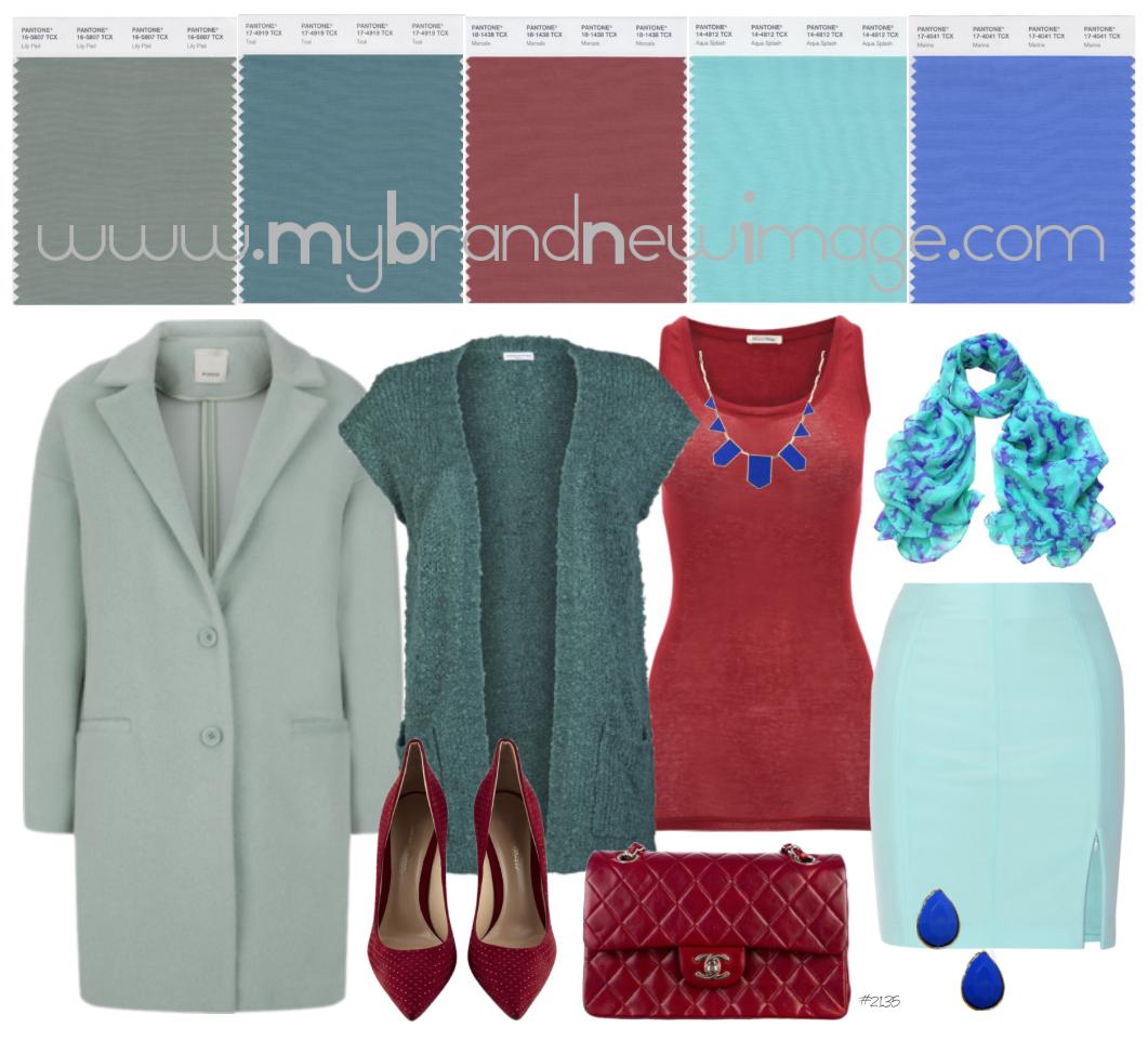 Marsala Color Pairing -  www.mybrandnewimage.com