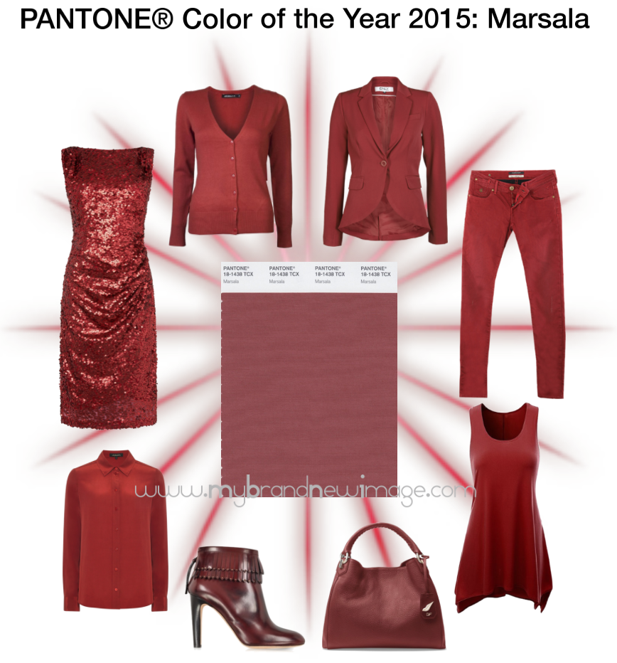 Pantone Color of the Year 2015: Marsala -  www.mybrandnewimage.com