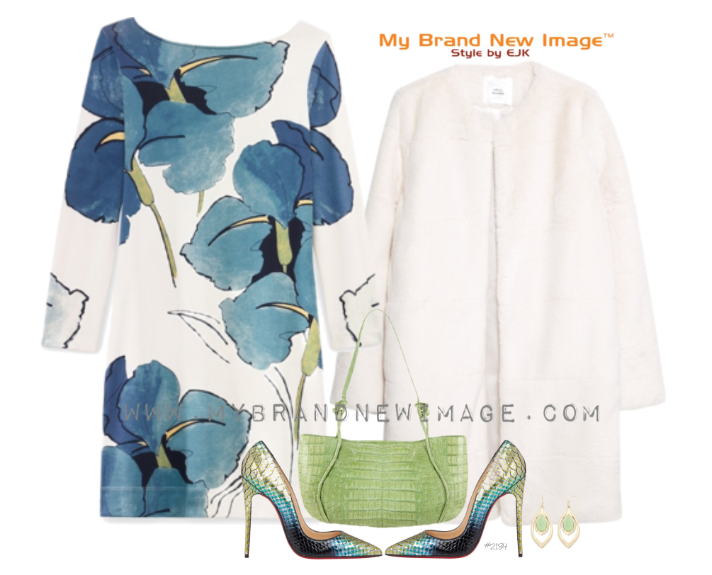 Floral Dress -  www.mybrandnewimage.com