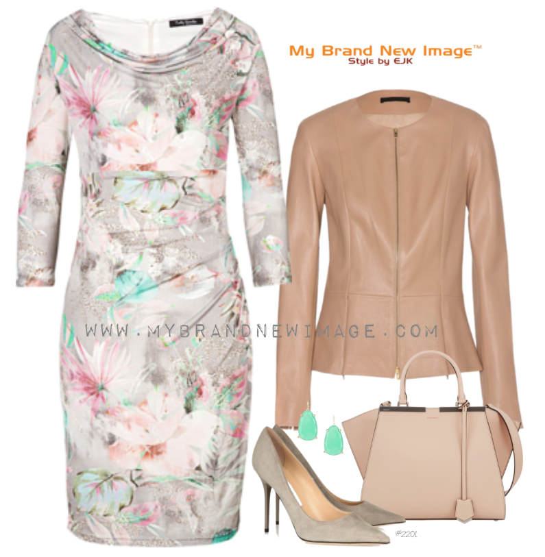 Floral Dress -  www.mybrandnewimage.com