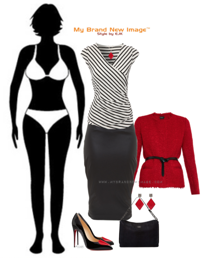 Hourglass Body Type - www.mybrandnewimage.com
